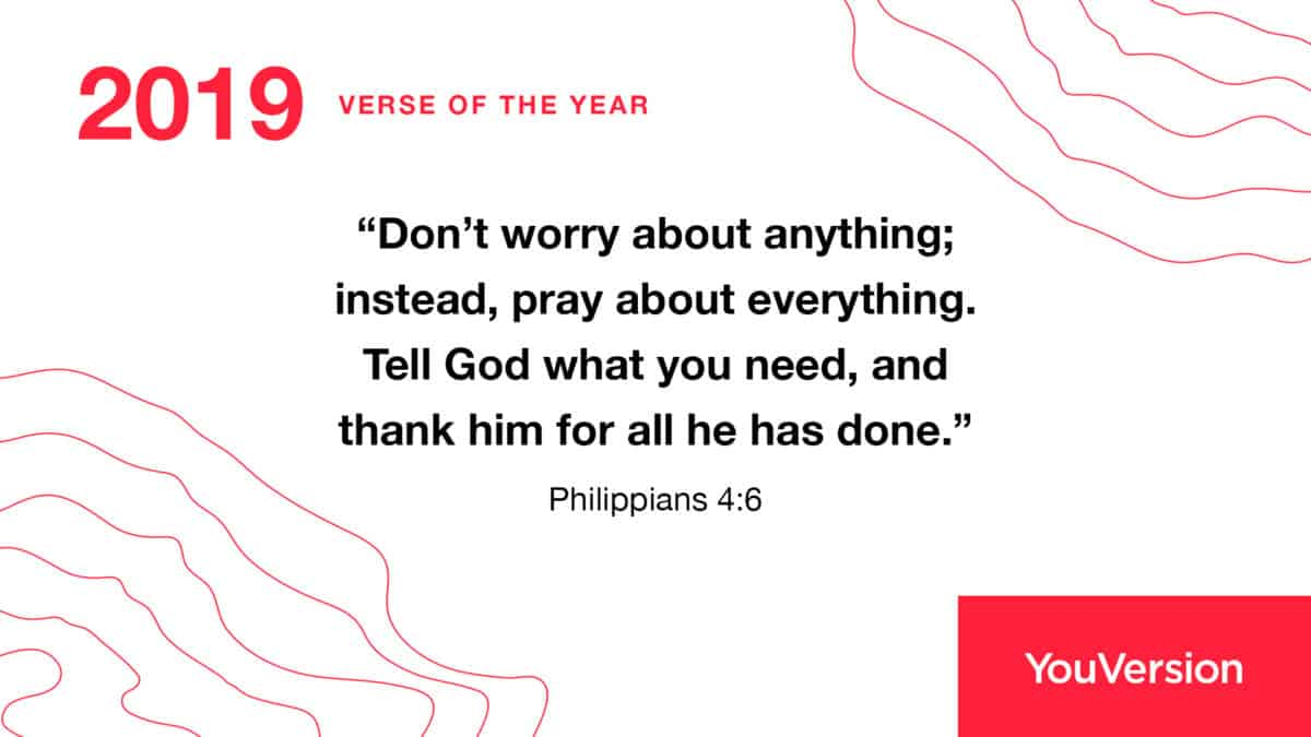 2019 Verse Of The Year