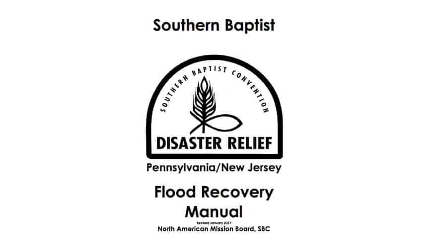 DR Flood Recovery Manual Feature