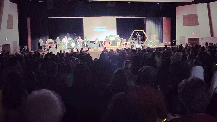 Providence Church 2019 Christmas Crowd