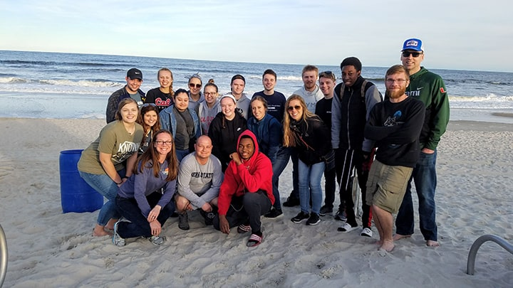 Group of Pennsylvania college students