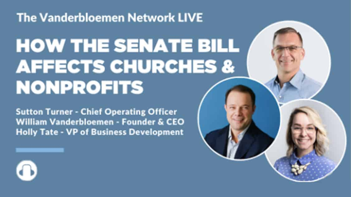 How The Senate Bill Affects Churches And Nonprofits