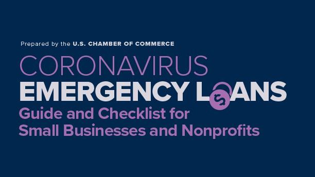 Coronavirus Emergency Loans Guide Graphic