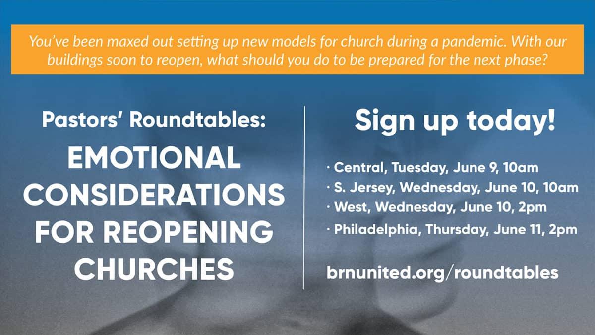 Pastor Roundtables (June 2020)