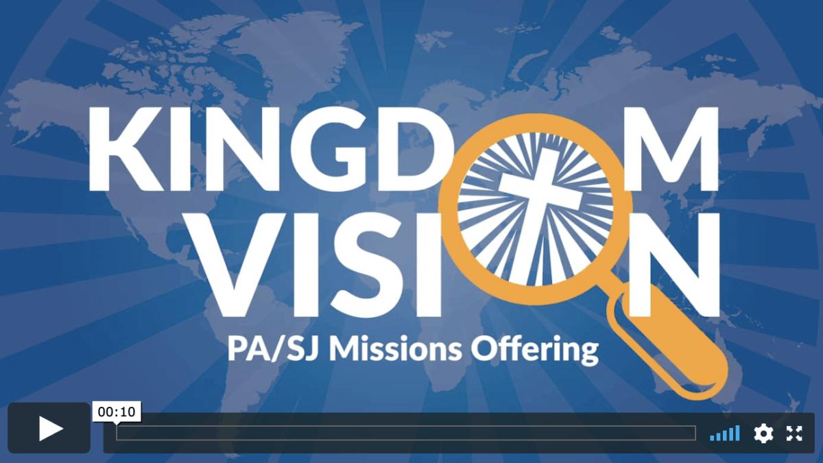 Screenshot Of Kingdom Vision Logo Opener