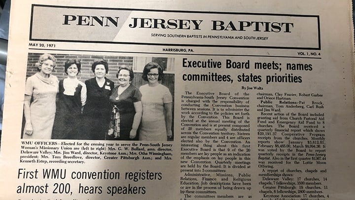 Penn Jersey Baptist-feature