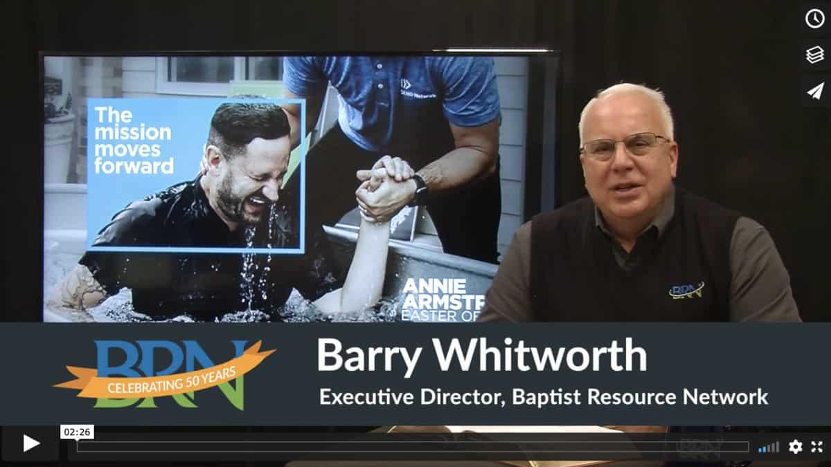 Barry Whitworth Video Screenshot