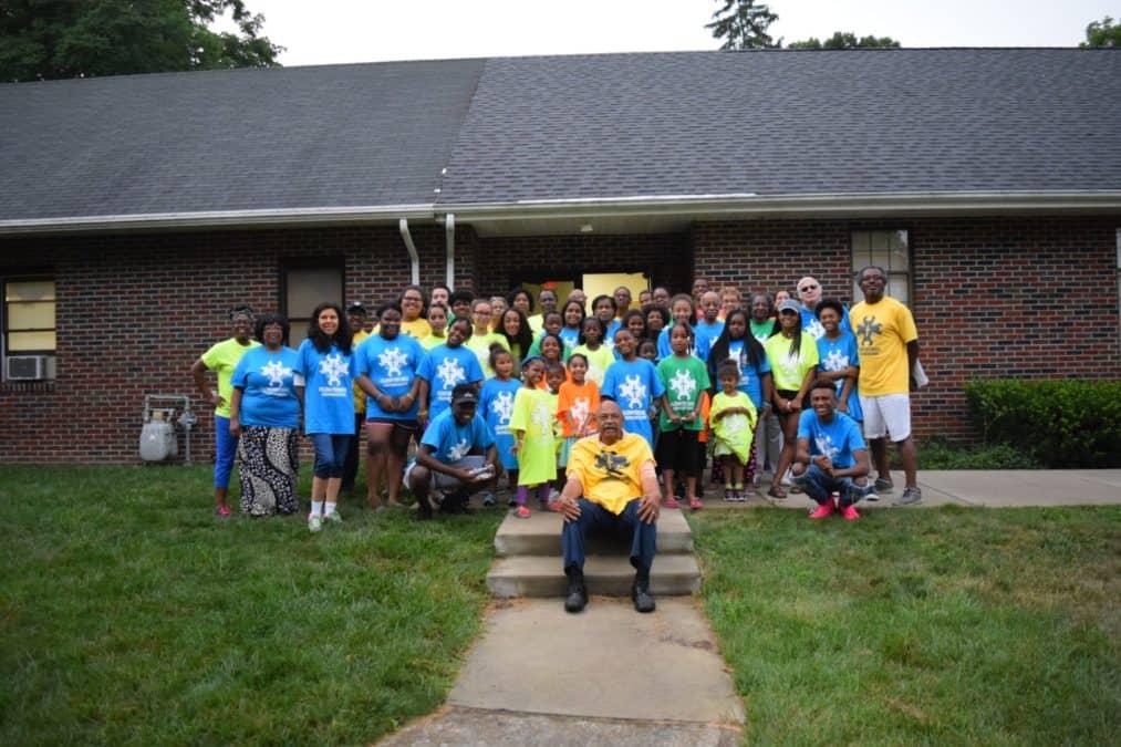 Members from Southside Baptist Church in Lumberton, N.J.