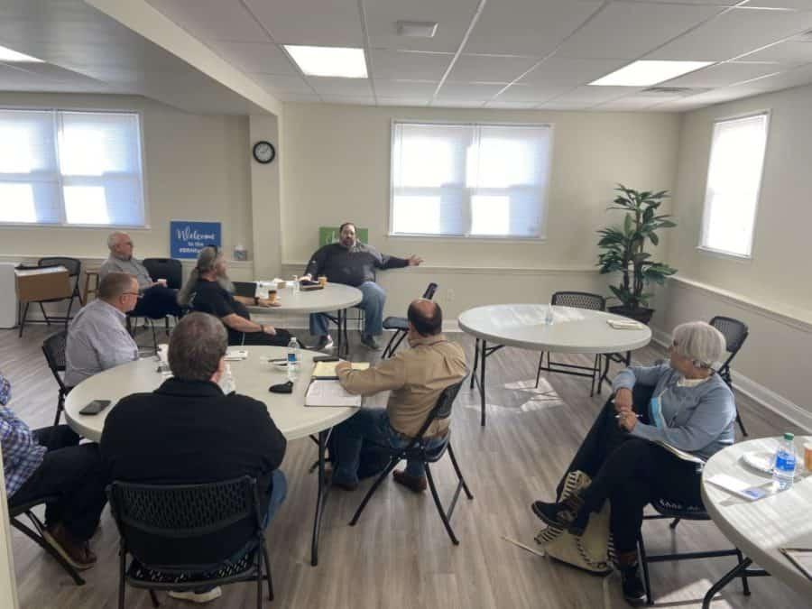 Georgia Vision team visits with BRN