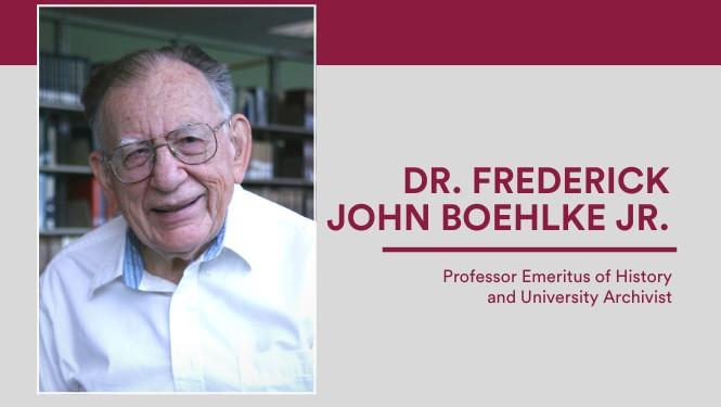 Dr. Frederick Boehlke