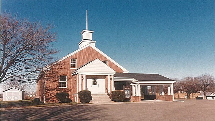 Wrightsdale Baptist Church - THEN