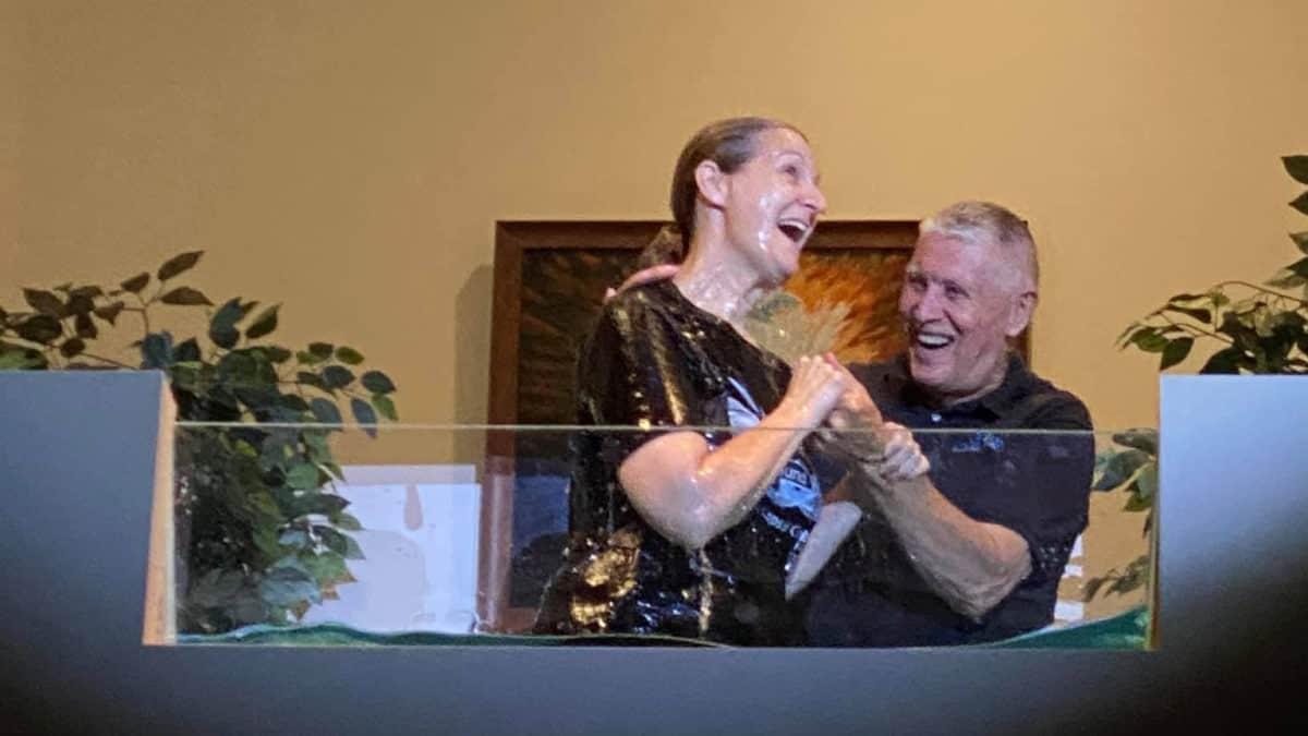 Theresa Havel baptism