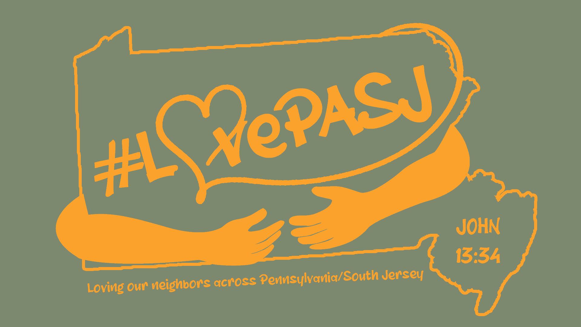 LovePASJ Logo-one Color-outline-orange