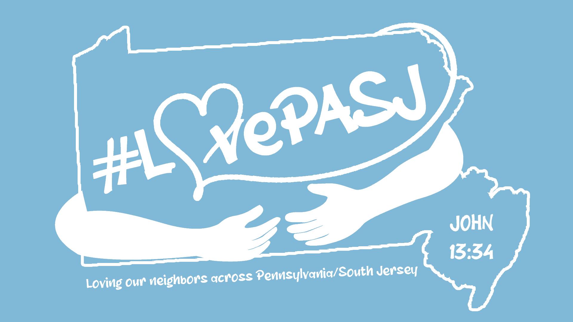 LovePASJ Logo-one Color-outline-white