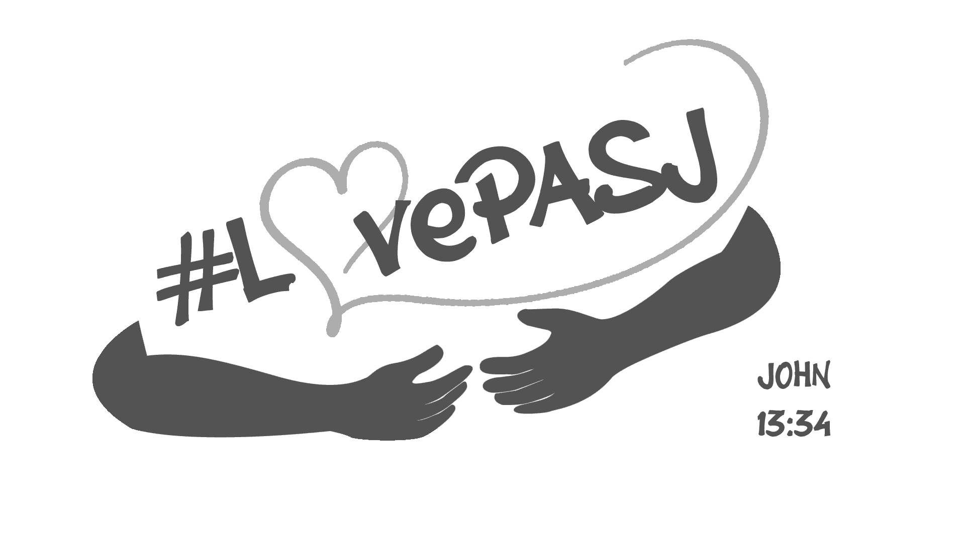 LovePASJ Logo (white-gray)