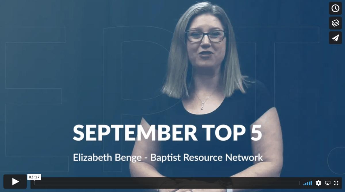 Sept 2021 Top Five
